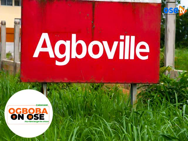 La ville d'Agboville