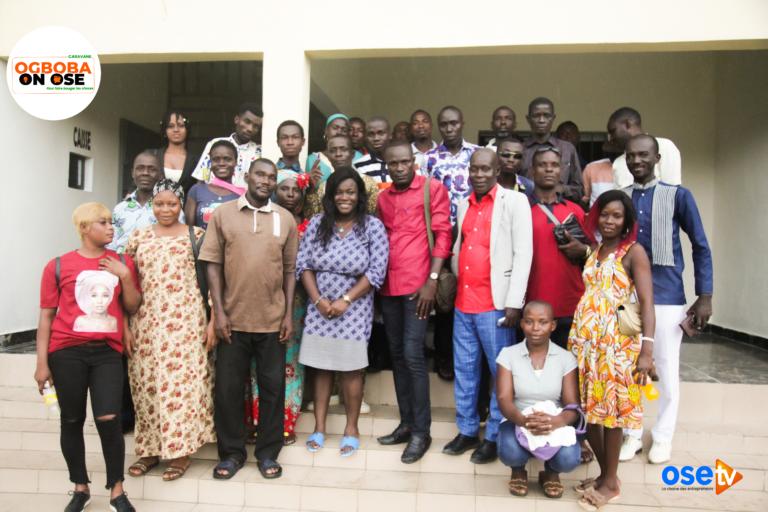 Top départ des formations des jeunes d'Agboville pour la caravane